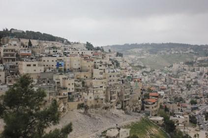 Palästinenser-Siedlung beim Ölberg