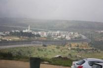 Mauer zum Palästinenser Gebiet