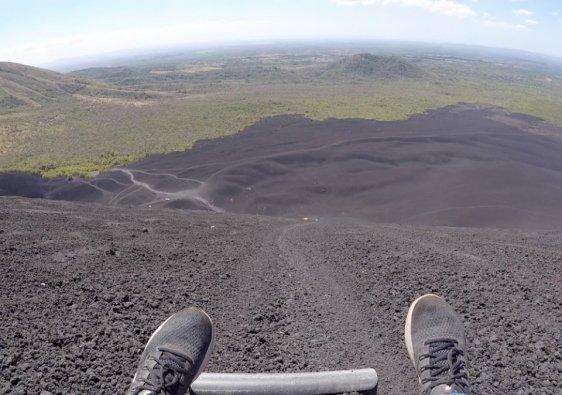Nicaragua Cerro Negro Volcano
