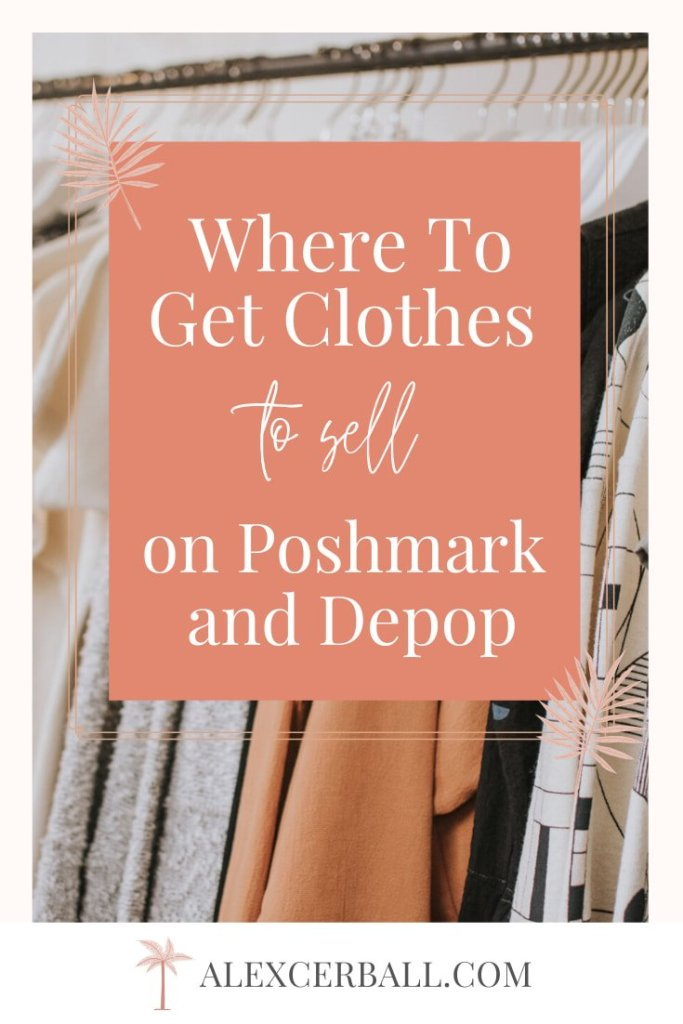 selling clothes on poshmark