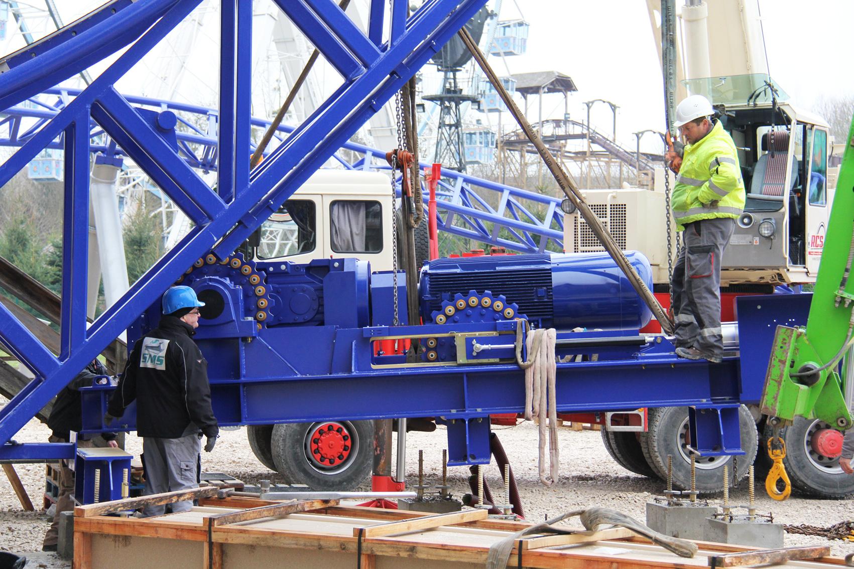 moteur lift install