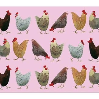 tischset-hühner-alex-clark-art
