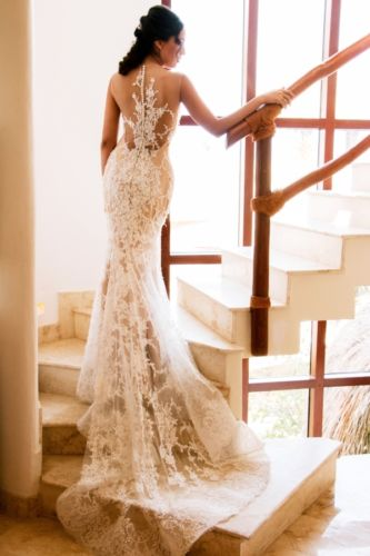 bride gown photo session,playa del carmen,mexico