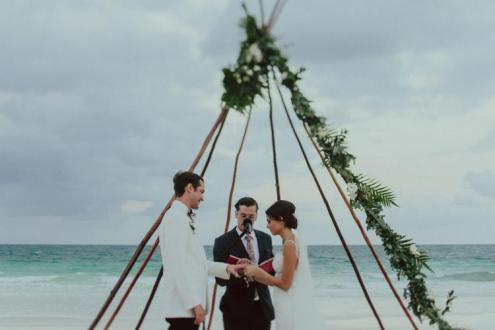 Tulum opulent wedding in Casa Malca