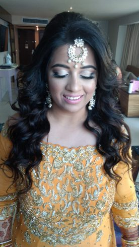 Indian bride make up,hard rock cancun