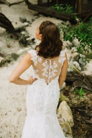 bride wears dress by Atelier nupcial