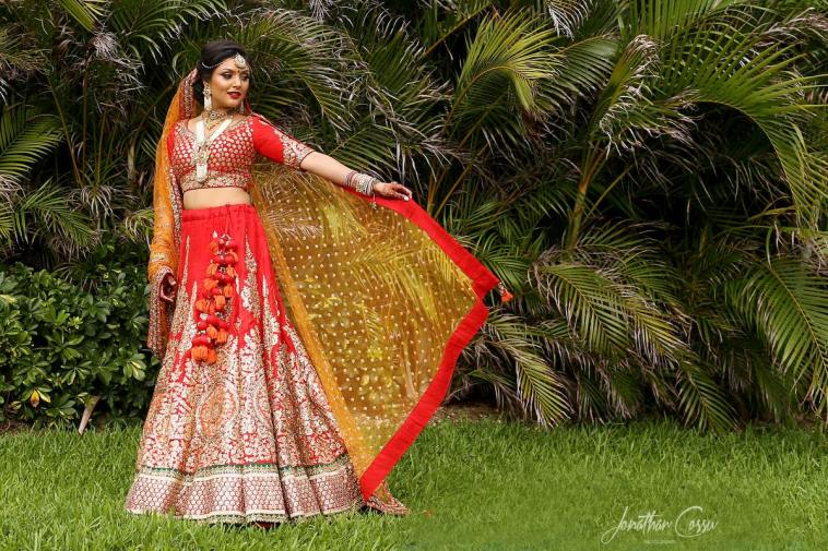 Chandni on her indian wedding,moon palace,cancun