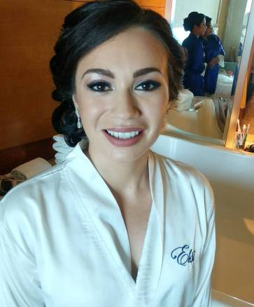 bride beauty,beach palace,cancun