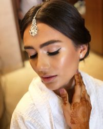 indianbride beauty for ceremony at grand palladium costa mujeres