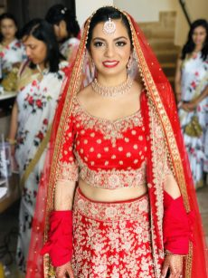 indianbride look for ceremony