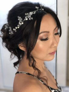asian bride beauty in playa del carmen