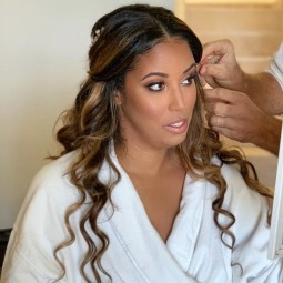 ciara hair and makeup at finest playa mujeres