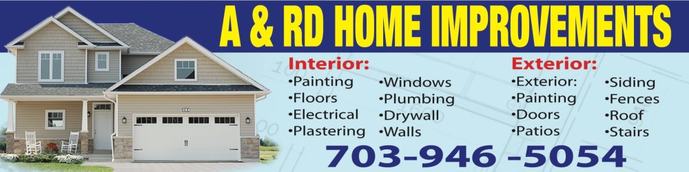 A & R HOME IMPROVEMENTS_banner