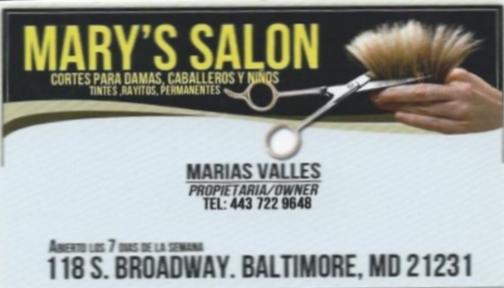 Marys Salon