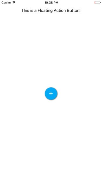 Xamarin Forms Floating Action Button NuGet Announcement