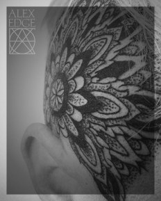 alex edge tattoos, head tattoo, head mandala, alex edge, Mandala tattoo, dotwork tattoo, dotwork , Alex Edge, alexedgetattoos