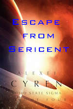 Escape from Sericent Solid State Sigma Alexei Cyren Science Fiction Scifi Paranormal Mecha