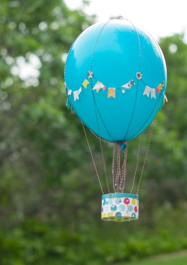 Hot Air Ballon with Fancy Pants Designs