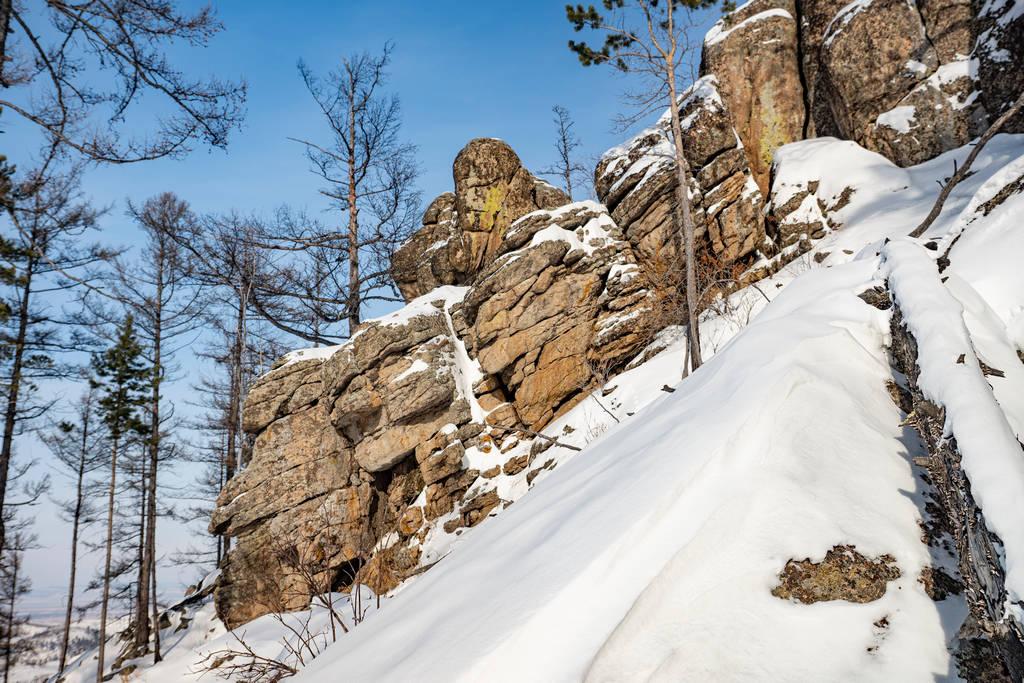 Останцы на горе Камень, хребет Черского