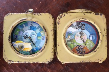 coast to coast lunch box clock