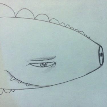 Funny pig fish
