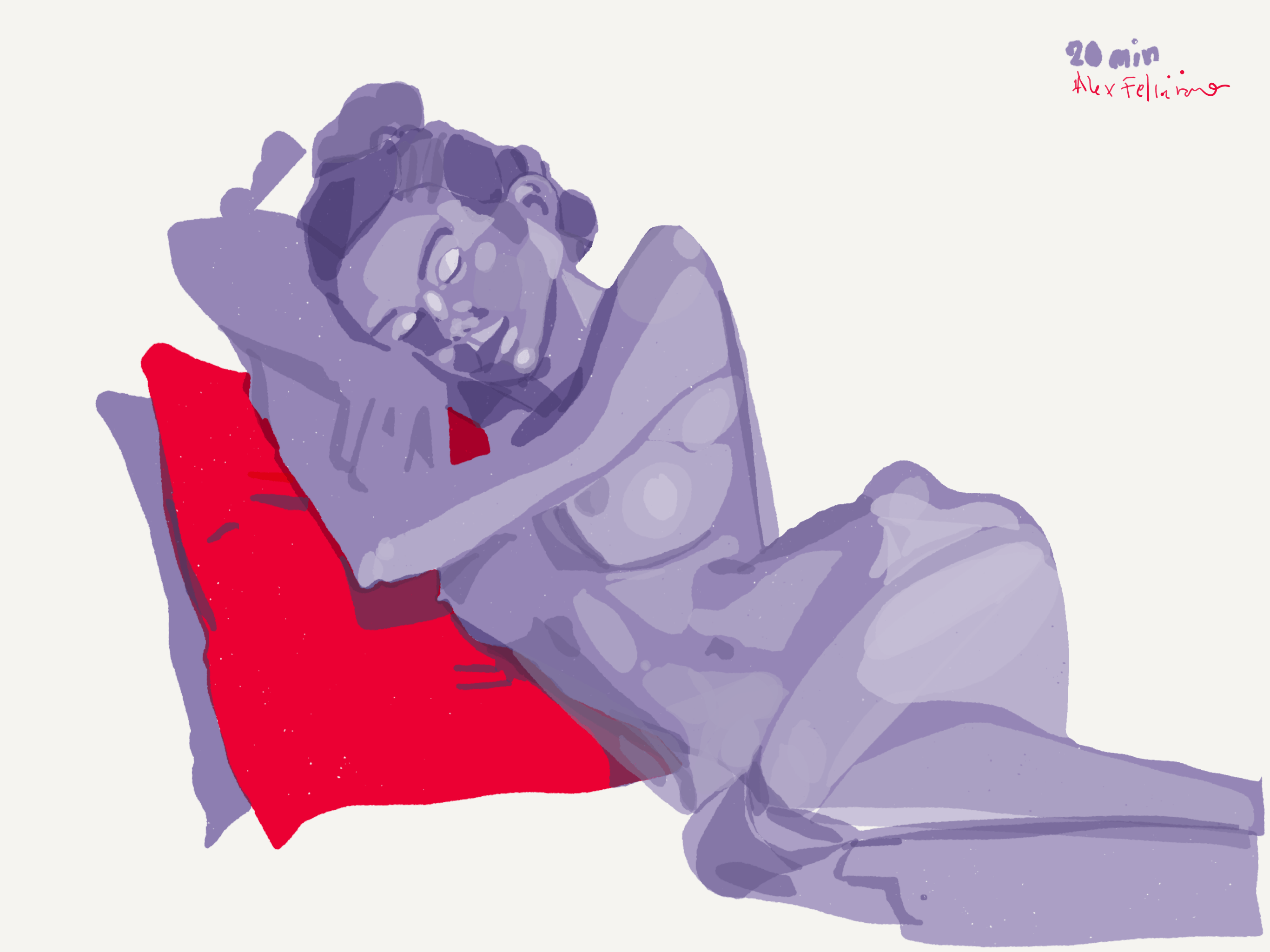 Tuesday night's figure drawing event, look at (iPad and Paper53) work.