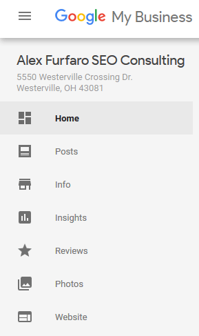 Google Post option in GMB account