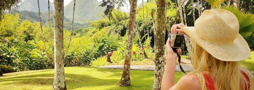 exploring the island of Martinique