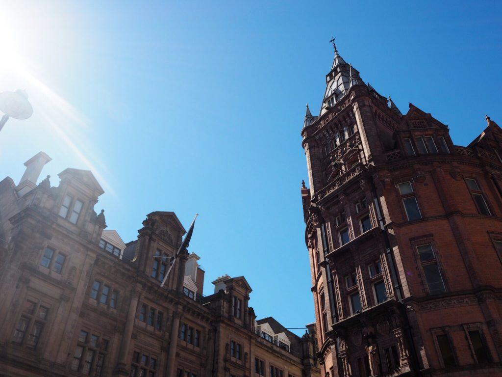 Victorian Gothic architecture in Nottingham city centre