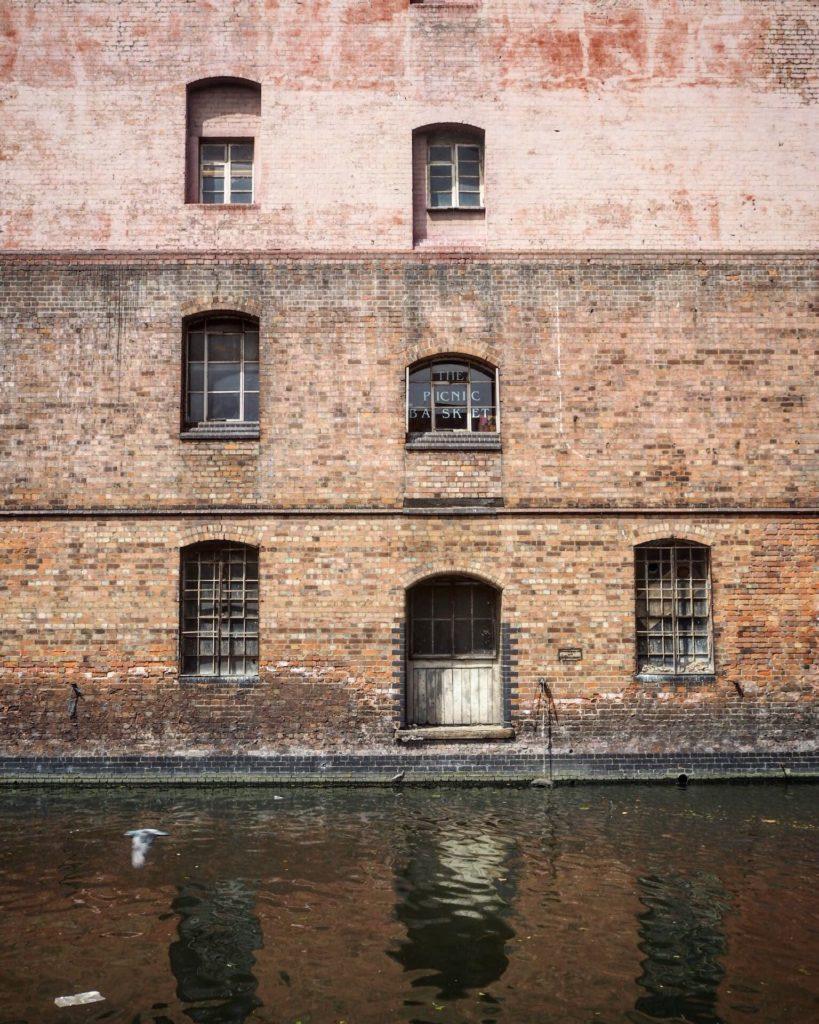 beautiful canal facade