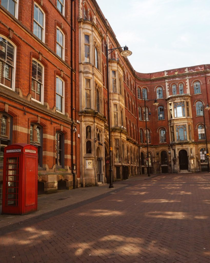 The Lace Market is a beautiful part of Nottingham - a weekend in Nottingham
