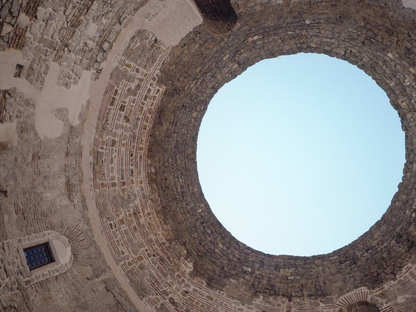 the ceiling of Diocletian's Palace