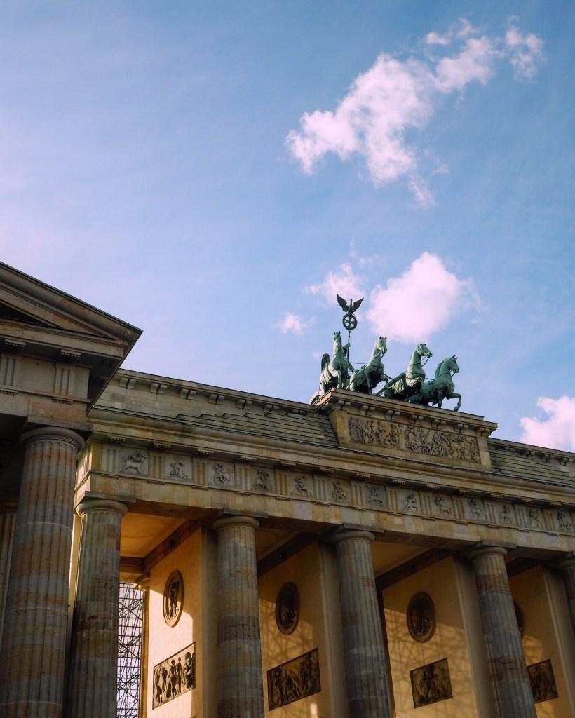 Berlin's landmark Brandenberg Gate is an important monument in the German capital