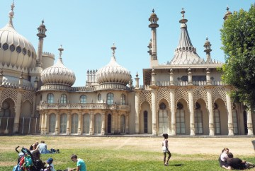 Brighton Pavilion from the front