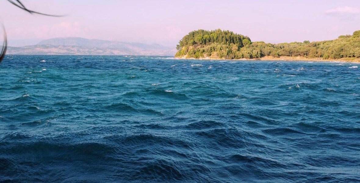 ferry ride from Corfu to Albania