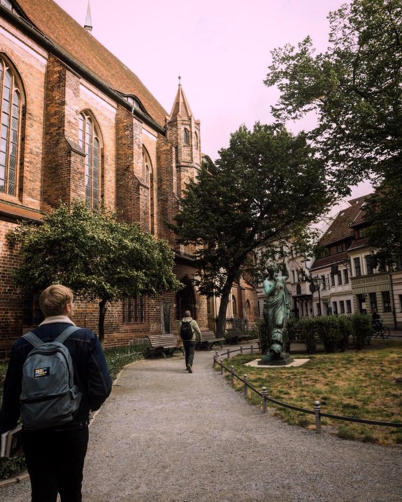 exploring the German capital