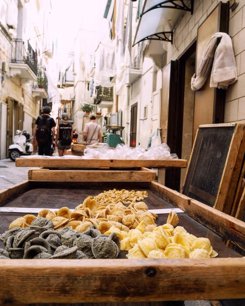 grandmas rule the Bari food scene