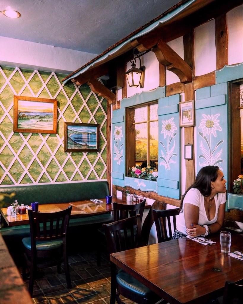 where to eat breakfast in Carmel CA - the Little Swiss Cafe