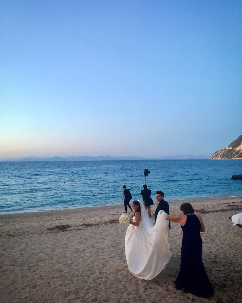 wedding in Agios Nikitas greece