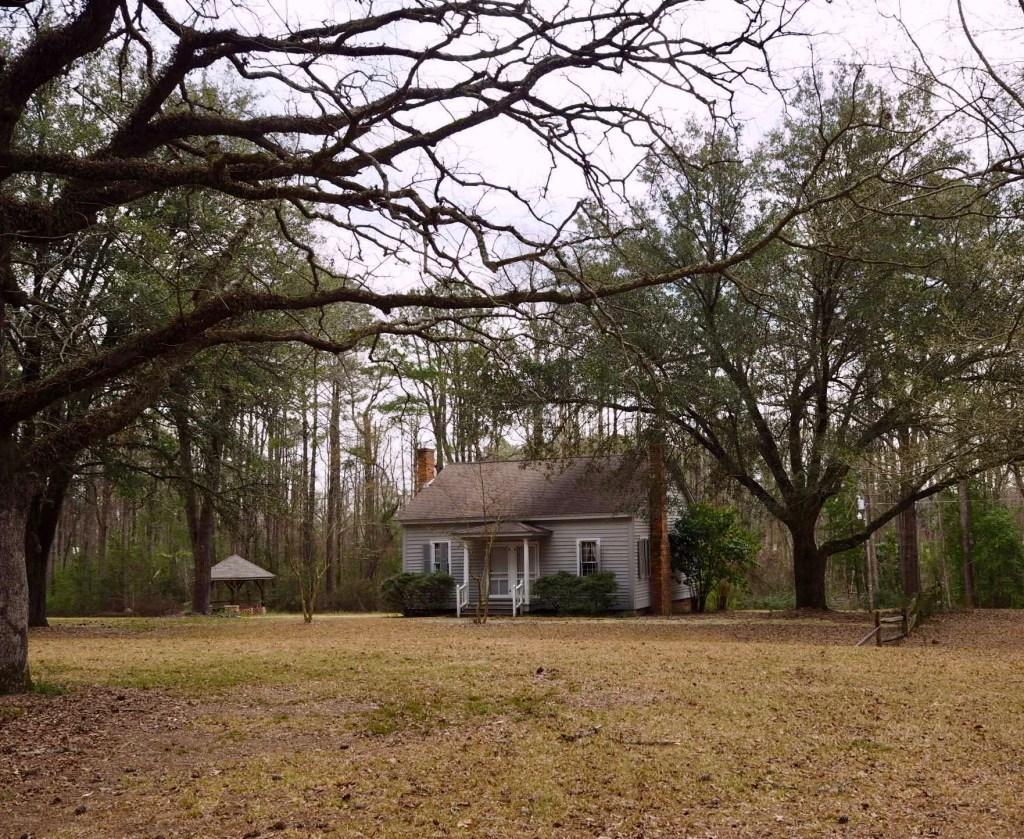 the John Charles McNeill house near Riverton Nort Carolina