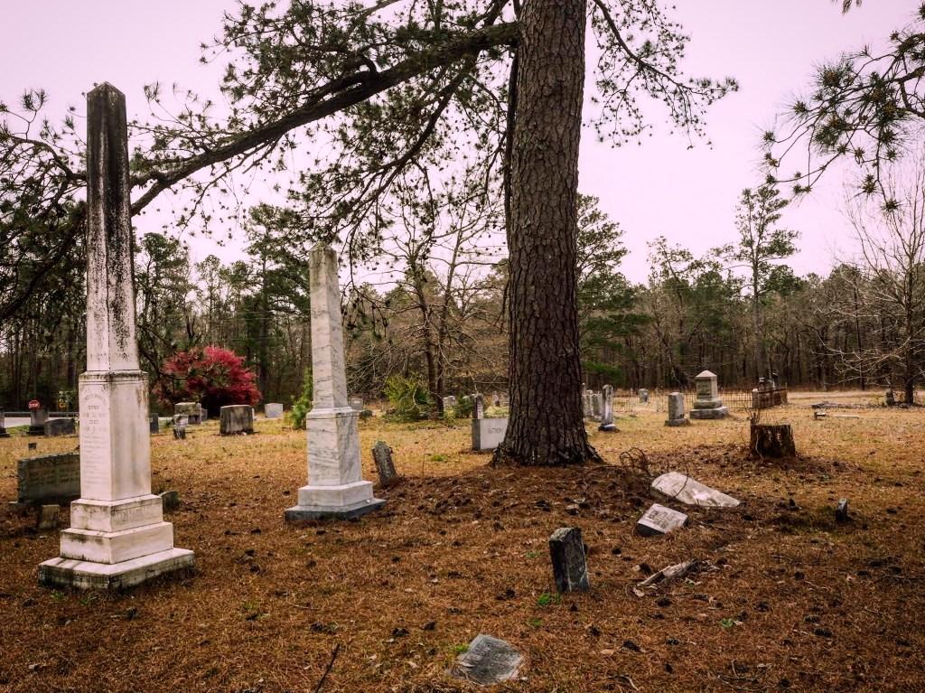 graveyard in Scotland County North Carolina