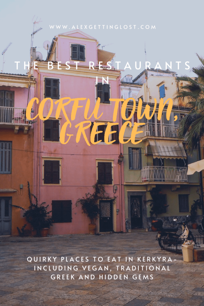 where to eat in Old Town Corfu