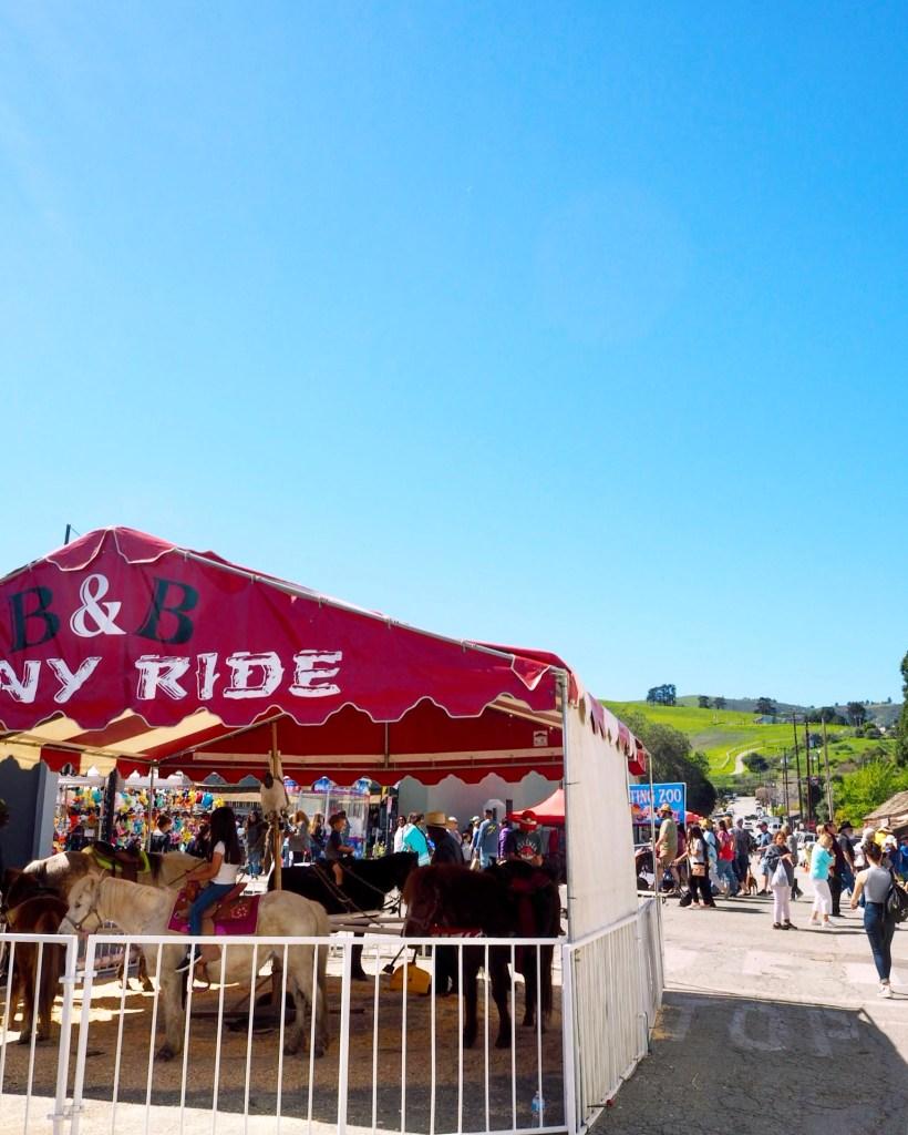 pony rides in San Juan Bautista, California