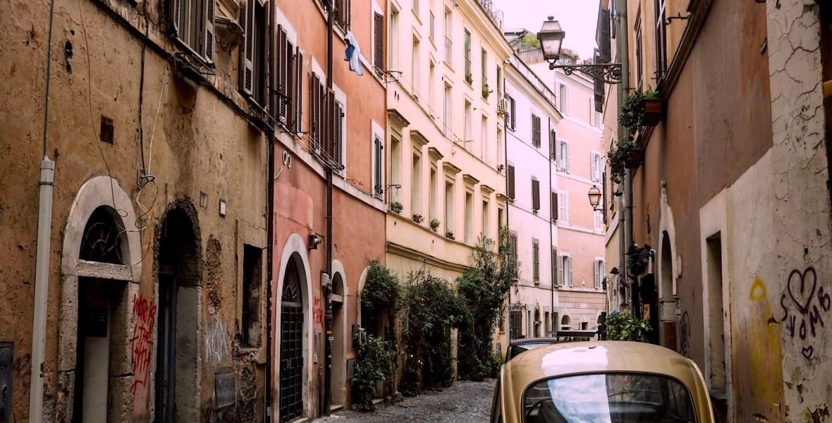 a winter day in Trastevere, Rome