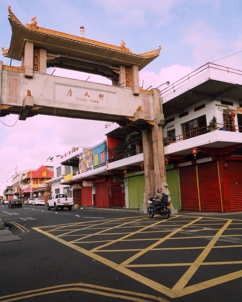 discovering Chinatown Port Louis Mauritius