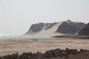 The Sinai Desert meets the Red Sea