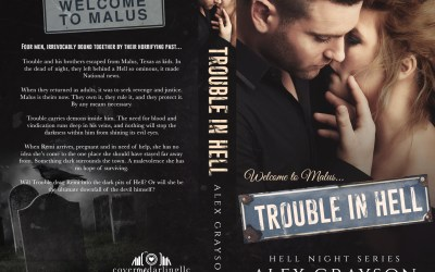 Cover Reveal & Pre-Order for Trouble in Hell
