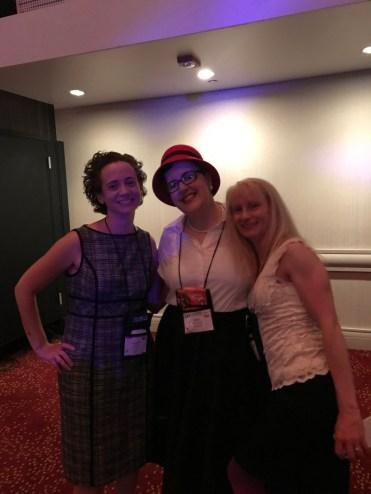 So much fun to meet my agency peeps Amanda Jain and C.M. McCoy.