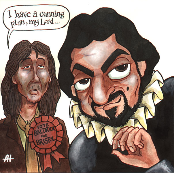 Image result for a cunning plan cartoon