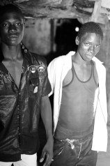 Soulayman and his friend are walking around the village late at night.